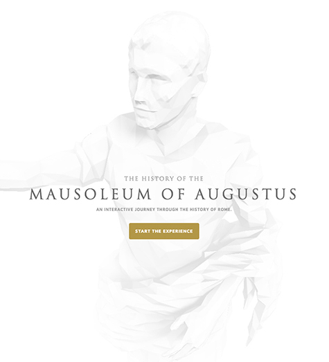 The History of the Mausoleum of Augustus